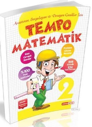 Kırmızı Beyaz Yayınları 2. Sınıf Tempo Matematik Kırmızı Beyaz