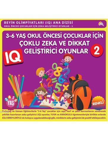 3-6 Yaş Okul Öncesi Çocuklar İçin Çoklu Zeka ve Dikkat Geliştirici Oyunlar 2 (3-4-5-6 Yaş)