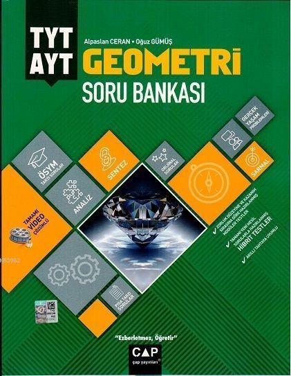Çap Yayınları TYT AYT Geometri Soru Bankası Çap