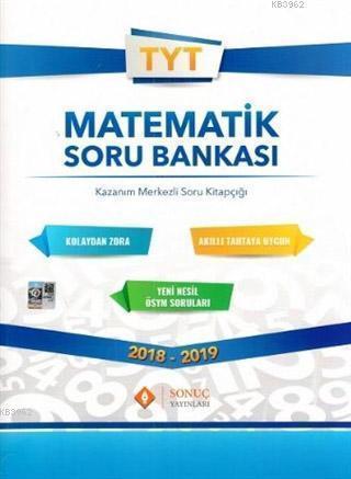 2018 - 2019 TYT Matematik Soru Bankası; Kazanım Merkezli Soru Kitapçığı