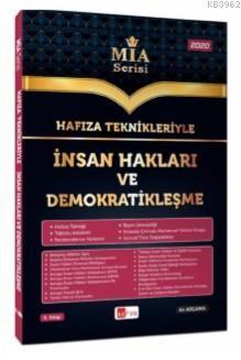 Hafıza Teknikleriyle İnsan Hakları ve Demokratikleşme MİA Serisi Ali Argama Akfon Yayınları 2020; Tüm Kurum Sınavları İçin