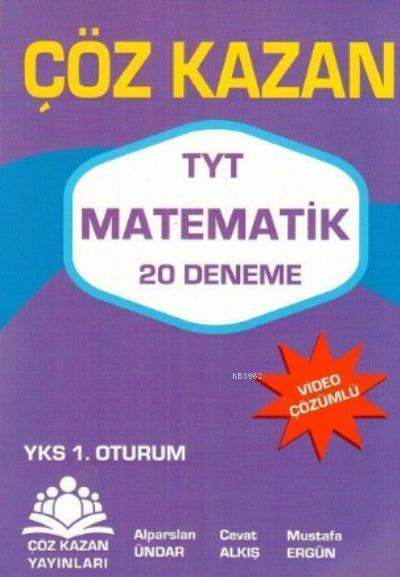 Çöz Kazan YKS TYT Matematik 20 Deneme 1. Oturum