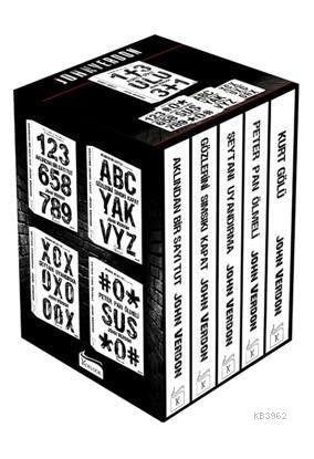 John Verdon Polisiye Seti (Kutulu) 5 Kitap