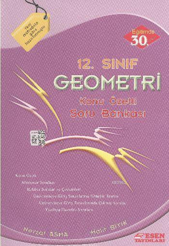 12. Sınıf Geometri Konu Özetli Soru Bankası
