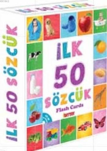İlk 50 Sözcük; Eğitici Flash Card