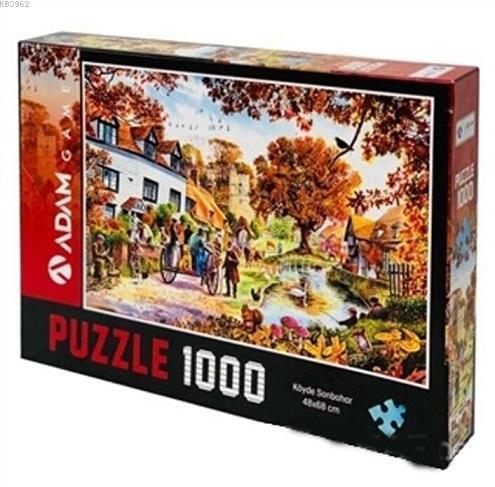 Adam Games Köyde Sonbahar 1000 Parça Puzzle 48x68