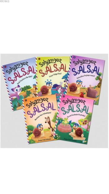 Salyangoz Salsal- 2 Set (5 Kitap)