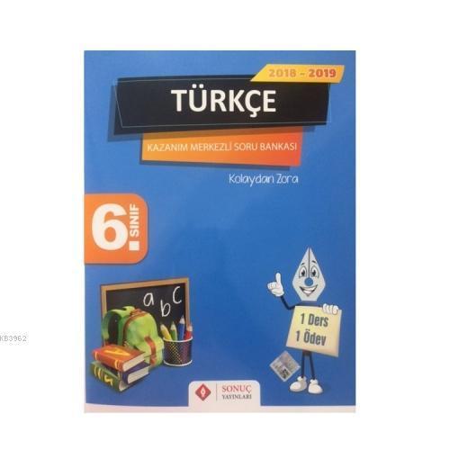 6. Sınıf Türkçe Kazanım Merkezli Soru Bankası 2018-2019