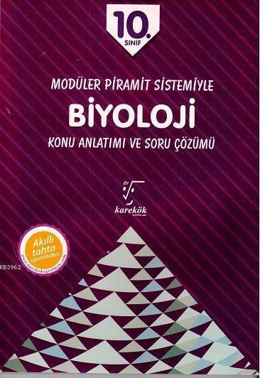 Karekök Yayınları 10. Sınıf Biyoloji MPS Konu Anlatımı ve Soru Çözümü Karekök