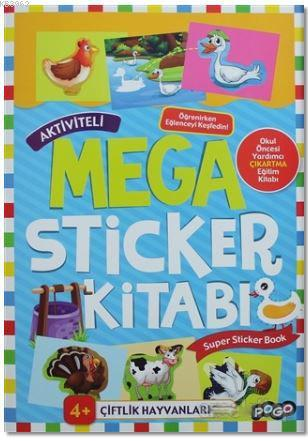 Aktiviteli Mega Sticker Kitabı; Super Sticker Book