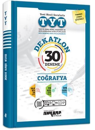 Ankara Yayıncılık TYT Dekatlon Coğrafya 30 Deneme
