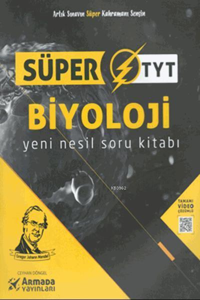 Süper TYT Biyoloji Yeni Nesil Soru Kitabı