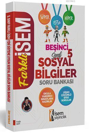 İsem Yayınları 5. Sınıf Sosyal Bilgiler Soru Bankası İsem