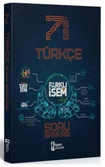 İsem 2021 7.Sınıf Farklı İsem Türkçe Soru Bankası İsem Yayıncılık