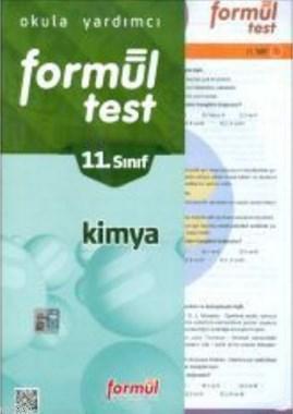 Formül 11. Sınıf Kimya Yaprak Test