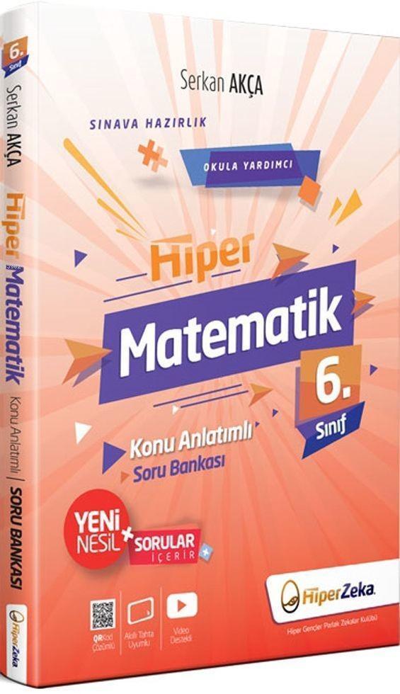Hiper Zeka Yayınları 6. Sınıf Hiper Matematik Konu Anlatımlı Soru Bankası Hiper Zeka