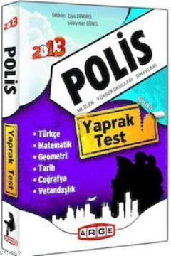 Polis Meslek Yüksekokulları Sınavları Yaprak Test