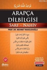 Arapça Dil Bilgisi Sarf-Nahiv