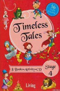 Stage 4-Timeless Tales 8 Books+Activity+CD