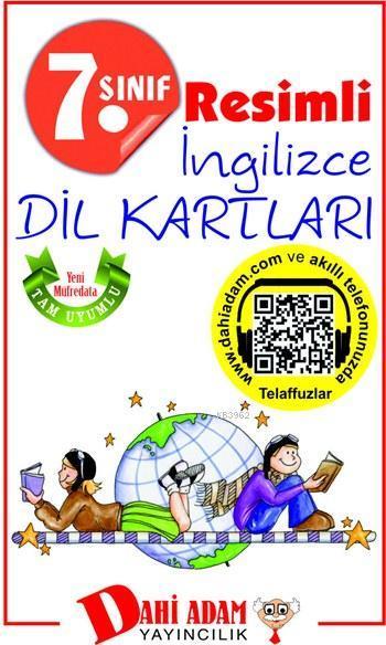 7. Sınıf Resimli İngilizce Dil Kartları