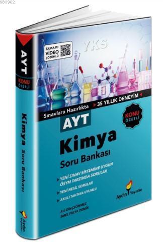 Aydın Yayınları AYT Kimya Konu Özetli Soru Bankası Aydın