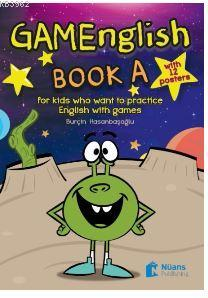 GAMEnglish Book A +12 posters; For Kids Who Want To Practice English With Games