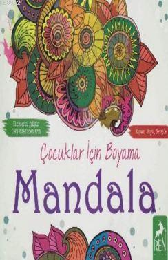 Çocuklar İçin Boyama Mandala