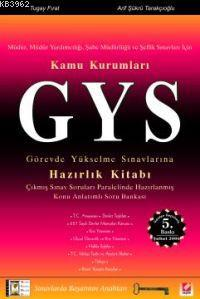 Kamu Kurumları Gys Hazırlık Kitabı; Görevde Yükselme Sınavları
