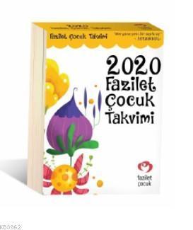 2020 Fazilet Çocuk Takvimi (İstanbul)