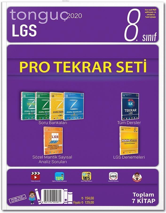 Tonguç Yayınları 8. Sınıf LGS Pro Tekrar Seti Tonguç