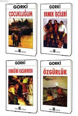 Maksim Gorki Klasikleri 4 Kitap Set 2