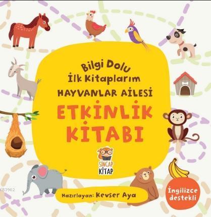 Bilgi Dolu İlk Kitaplarım - Etkinlik Kitabı