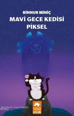 Mavi Gece Kedisi Piksel