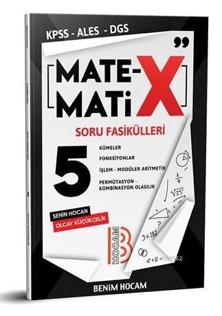 2020 KPSS ALES DGS TYT Matematix Soru Fasikülleri-5 Benim Hocam Yayınları