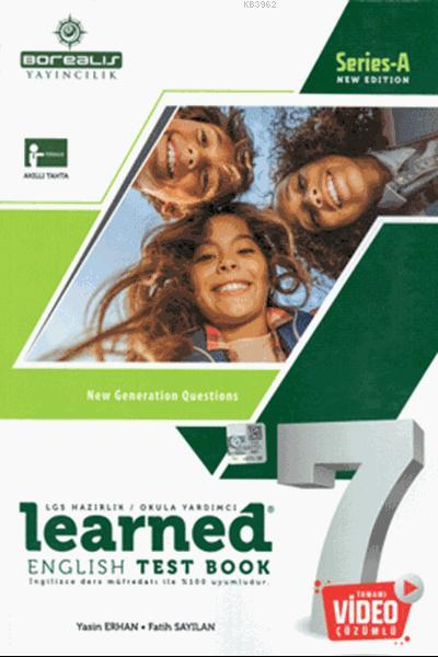 Learned English Test Book 7; 7. Sınıf Series - A New Edition