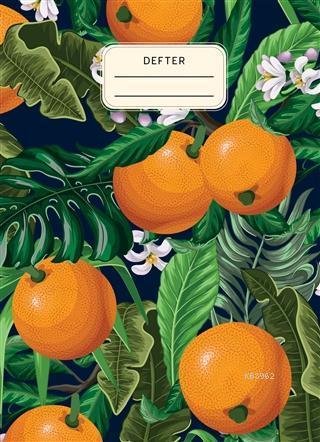 Portakallı Defter