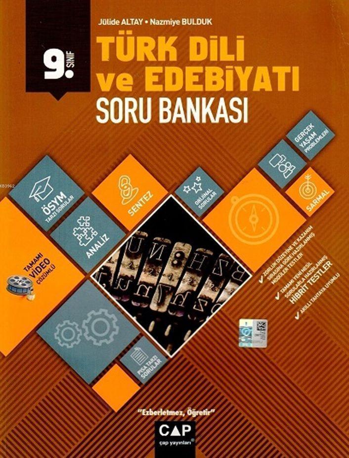 Çap Yayınları 9. Sınıf Anadolu Lisesi Türk Dili ve Edebiyatı Soru Bankası Çap