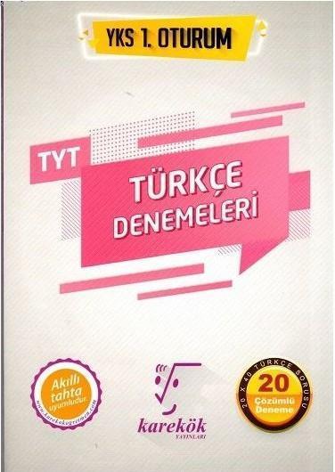 Karekök Yayınları TYT Türkçe Denemeleri Karekök