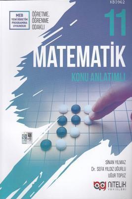 Nitelik Yayınları 11. Sınıf Matematik Konu Anlatımlı Nitelik