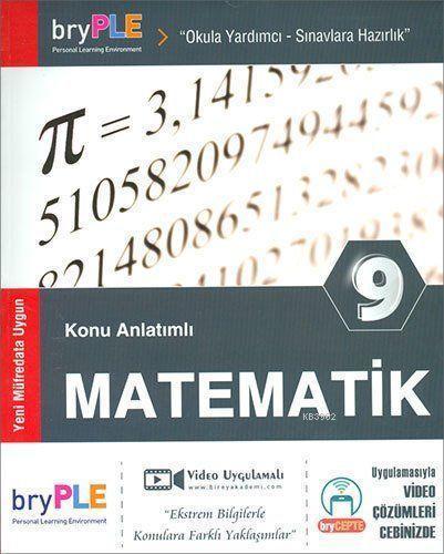 2019 9. Sınıf Matematik Konu Anlatımlı; Birey PLE