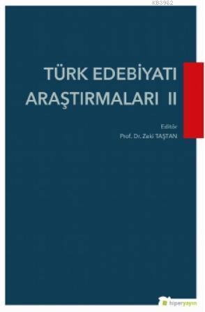 Türk Edebiyatı Araştırmaları II