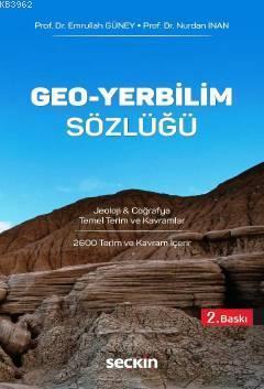 Geo - Yerbilim Sözlüğü; Jeoloji & Coğrafya Temel Terim ve Kavramlar
