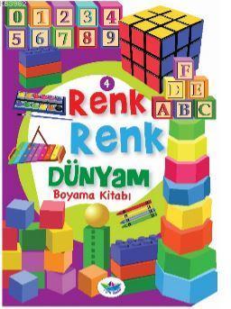 Renk Renk Dünyam Boyama Kitabı - 4