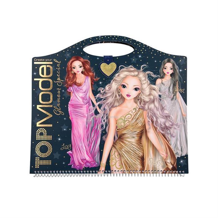Top Model Glamour Boyama Kitabı 0410733_A