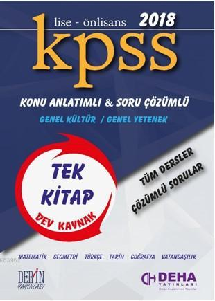 Kpss Genel Kültür Genel Yetenek Konu Anlatımlı Soru Bankası