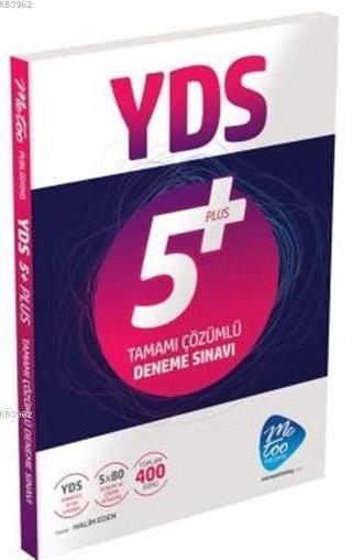 YDS 5 Plus Tamamı Çözümlü Deneme Sınavı