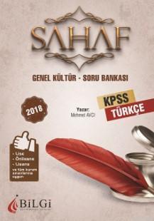 2018 KPSS Sahaf Türkçe Soru Bankası