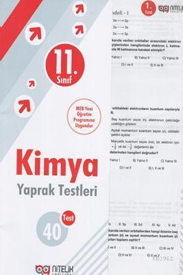 Nitelik - 11. Sınıf Kimya Yaprak Test *Yeni* 2019