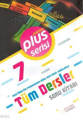 7.Sınıf Plus Serisi Tüm Dersler Soru Kitabı