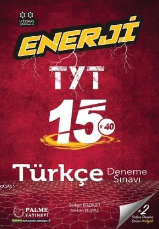 Enerji TYT Türkçe 15 Deneme Sınavı